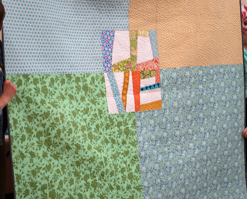 Tracy's quilt back
