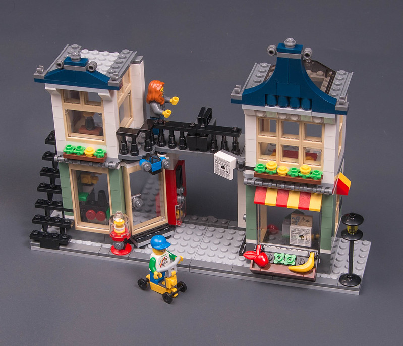 Review 31036 Creator Toy And Grocery Shop 3 In 1 Lego Town
