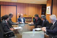 Audiência com o Ministro da Educação Renato Janine Ribeiro