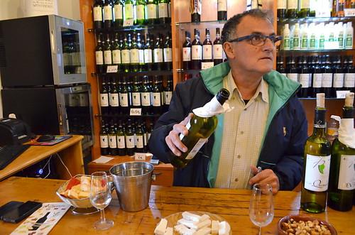Wine tasting at Bodega Reverón, Vilaflor