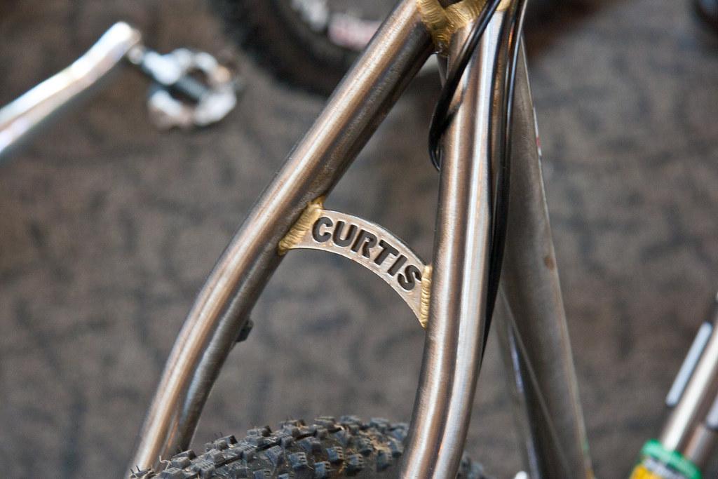 Curtis fillet brazed @ Bespoked Bristol