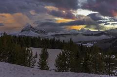 Engineer Mountain Sunset
