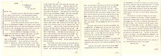 Sinking of SS Lusitania (1915) - Letter regarding sinking of ship