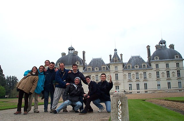 viaje 2001 castillos de loira - cheverny