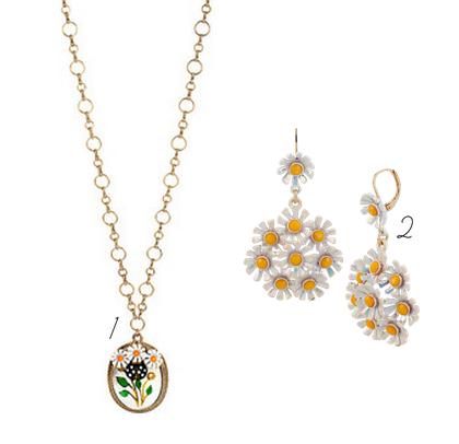 betsey johnson daisy jewelry