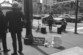 Ferry Plaza Farmers Market - College Fund Street Band