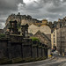 Edinburgh Castle v Clouds, Candlemaker Row, Edinburgh by Colin Myers Photography