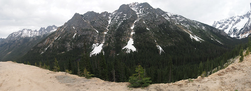 Washington Pass Mountains and Valley