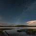 Crane Prairie Milky Way Mountains