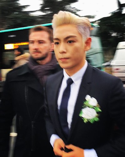 TOP - Dior Homme Fashion Show - 23jan2016 - wang_maojie - 03
