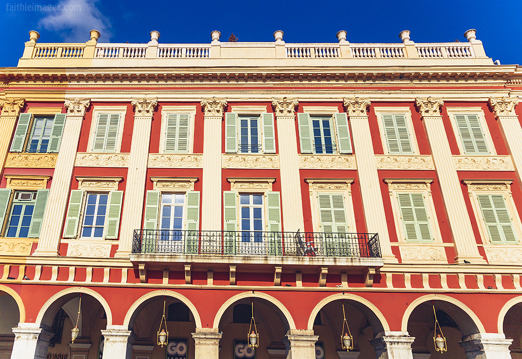 Architecture in Nice, French Riviera