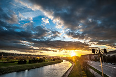 Magic Sunset   Kaunas, Lithuania