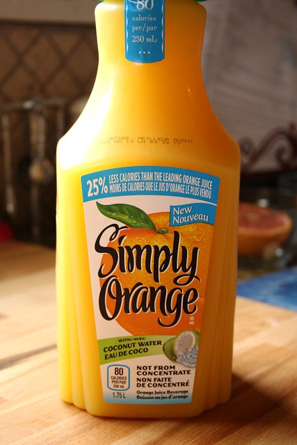 Simply Orange with Coconut Water
