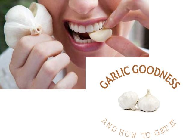 garlic for healthy living