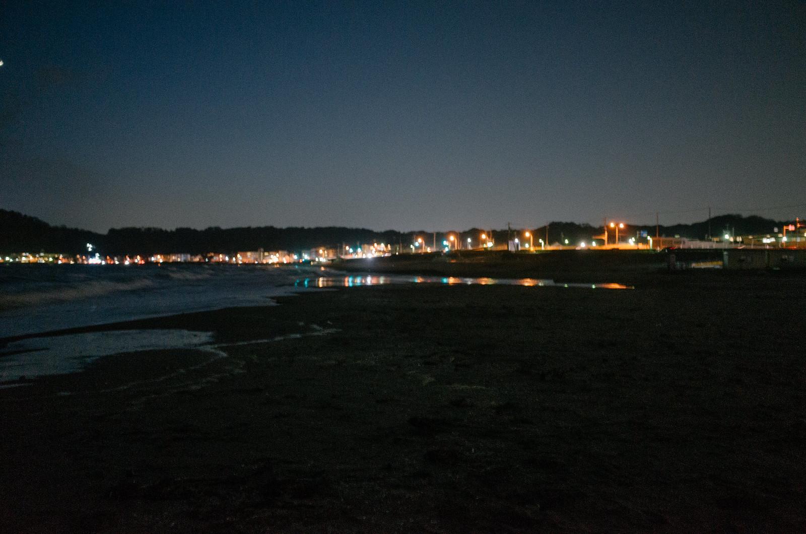 after-dark sea