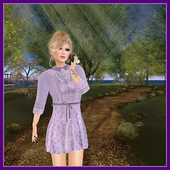 Purple Moon, Dress Me Purple Hunt: Masami Dress & Cardi (Hunt # 7 & 8)