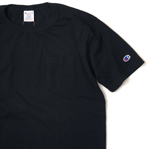 Champion [Made in USA] / T1011 Pocket Tee