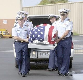 Lieutenant Jack Rittichier returns home.