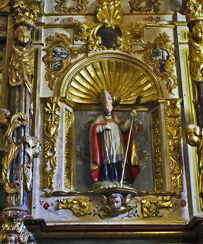 San Froilán en la iglesia de Valdepiélago