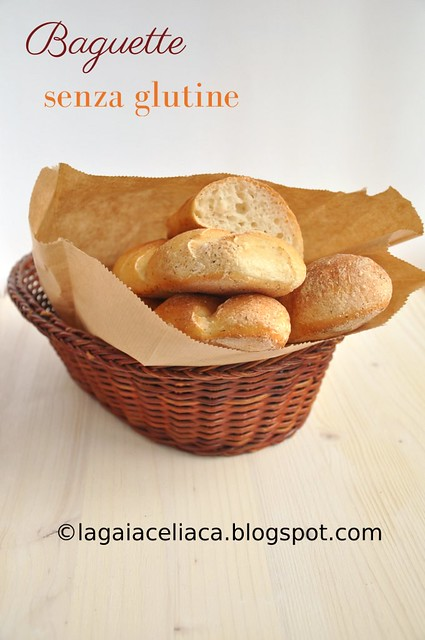 Gluten free baguette
