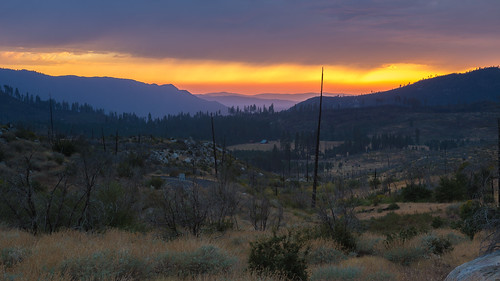Yosemite Smoggy Magic after Wildfire