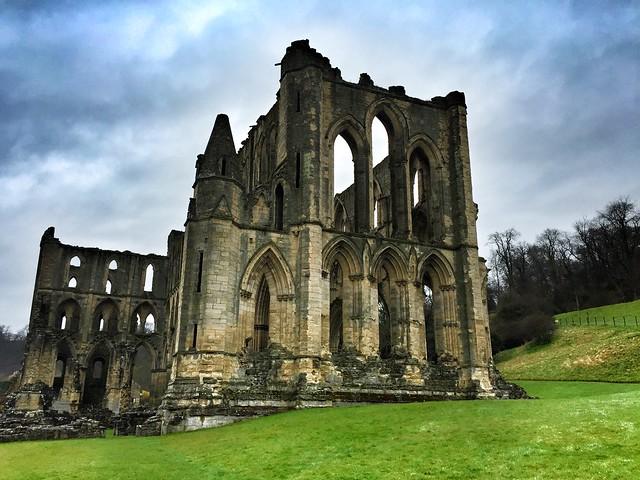 Rievaulx Abbey (Yorkshire, Inglaterra)