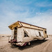 Doha - The carvan in the desert by Manlio Castagna