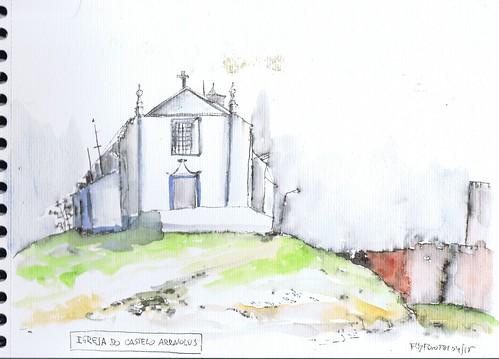 2015.04.05 Igreja do Castelo Arraiolos
