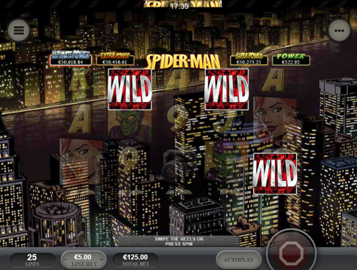 free Spider-Man: Attack of the Green Goblin Mobile wild feature