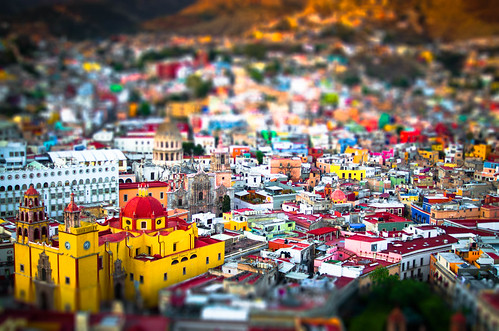 city travel sunset vacation urban color building tourism buildings landscape mexico outside outdoors photography colorful downtown cityscape outdoor basilica traditional famous hill colonial sightseeing scenic cities culture nopeople landmark icon tourist historic unescoworldheritagesite unesco worldheritagesite spanish valley northamerica historical guanajuato tradition iconic mx touristattraction goldenhour attraction centralmexico historicbuilding 2015 travelphotography scenicoverlook 35mmf2 spanishinfluence placeofinterest tiltshiftfake traveldestination basilicadenuestrasenoradeguanajuato scenicarea d7000 hillyterrain guanajuato3966