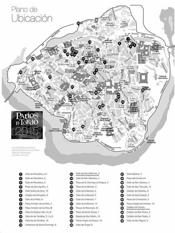 Patios de Toledo 2015