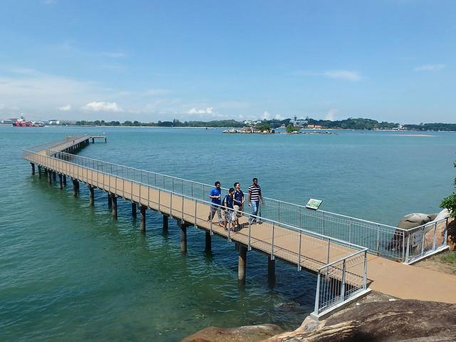 Pulau Sekudu from Chek Jawa House No. 1 jetty