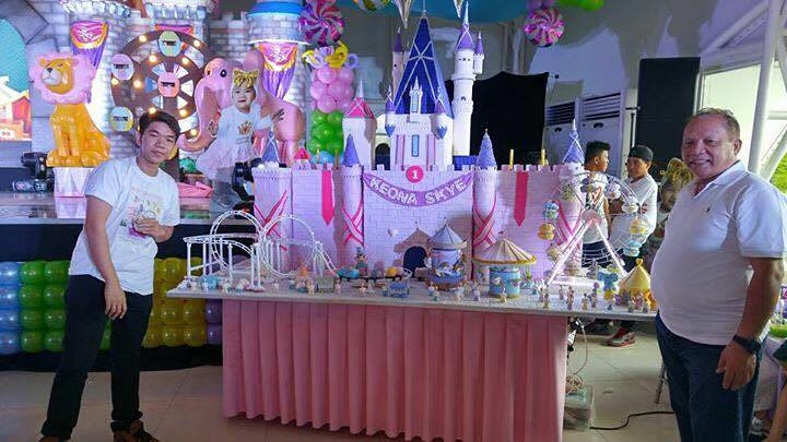 Cake by Greggie E. Mercado of Lollicake Factory