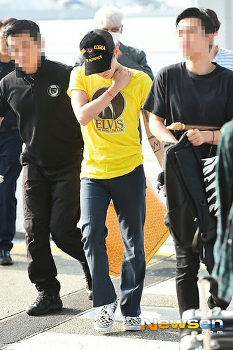 Big Bang - Incheon Airport - 07aug2015 - Newsen - 07