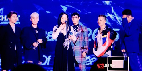 Big Bang - The 5th Gaon Char K-Pop Awards - 17feb2016 - YB 518 - 11