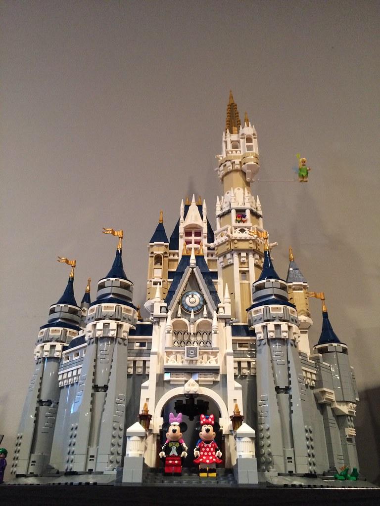 Disney Castle alternate views