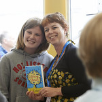 Jo Cotterill Book Signing | Children's author Jo Cotterill meets her fans © Alan McCredie