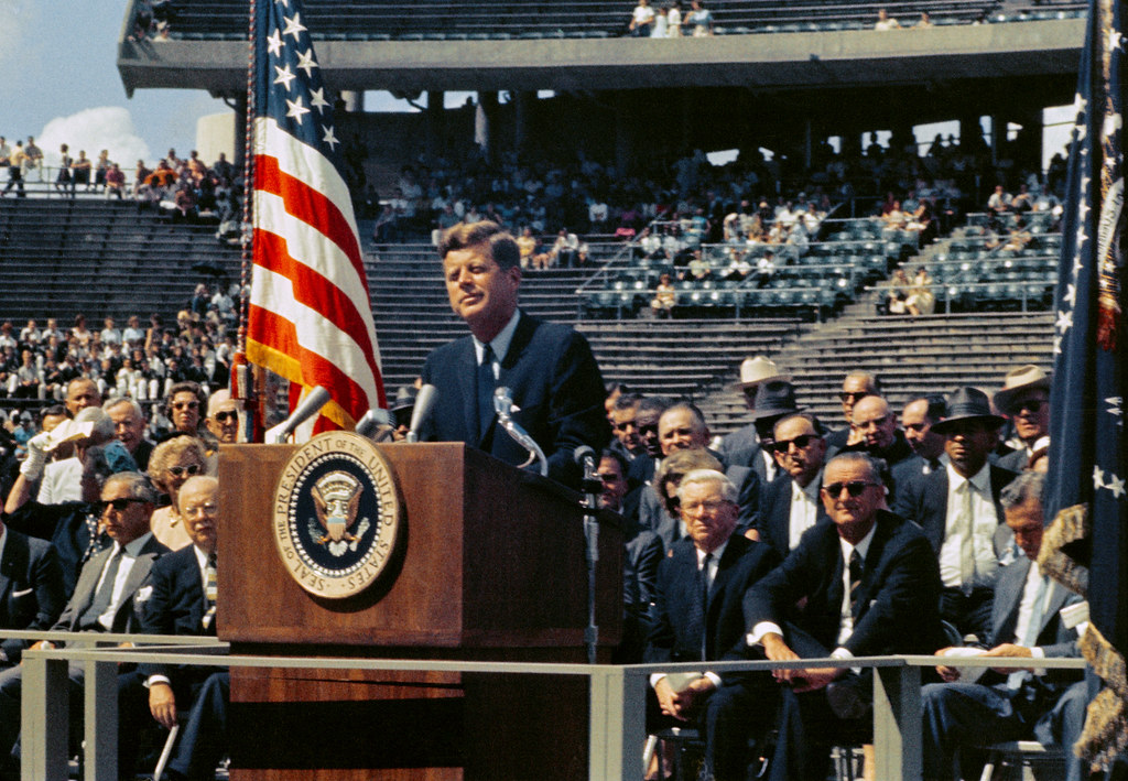 President Kennedy - We Choose to Go to the Moon