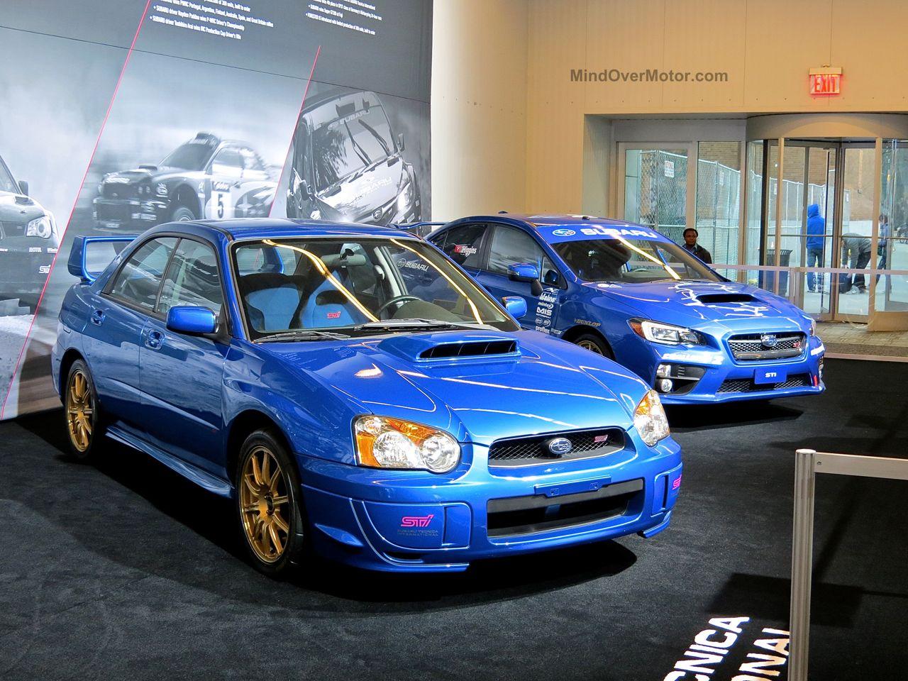 NYIAS 2015 Subaru WRX STi