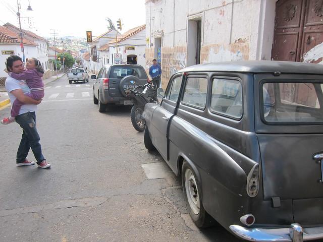 Antique Škoda in Sucre