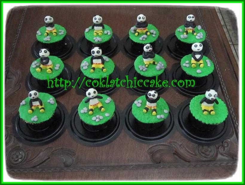 Cupcake Kungfu Panda