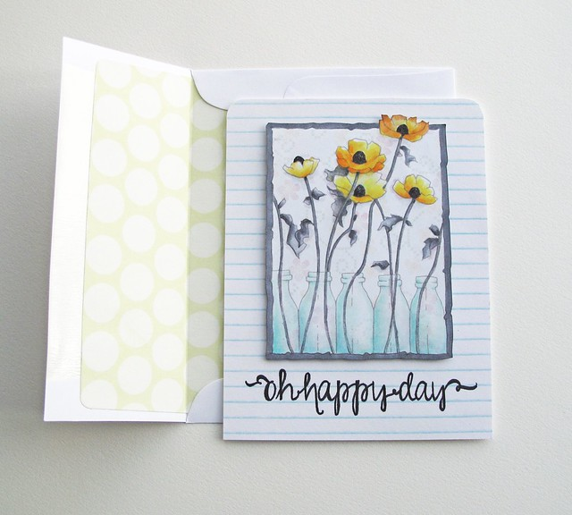 a day for daisies floral card