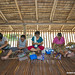 village women making bead bracelets - Kudat, Sabah, Malaysia-5 by Christian Loader