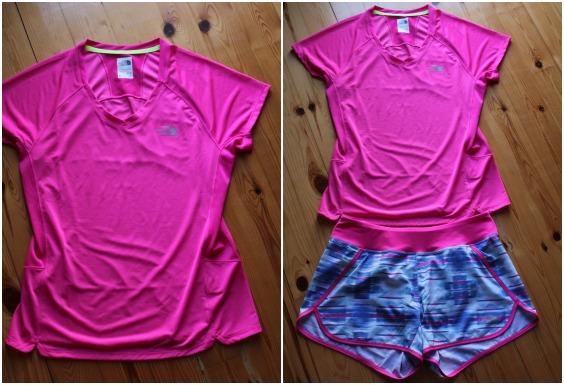 """Το  """"GTD"""" running shirt with short sleeves σε πολύ ωραίο χρωματικό συνδυασμό με το σορτς """"Eat my Dust""""!"""