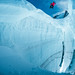 Jumping the crevasse with Fabian Bodet by Tristan Shu