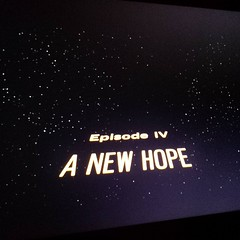 Friday night family time. Because. #geekmom #starwars