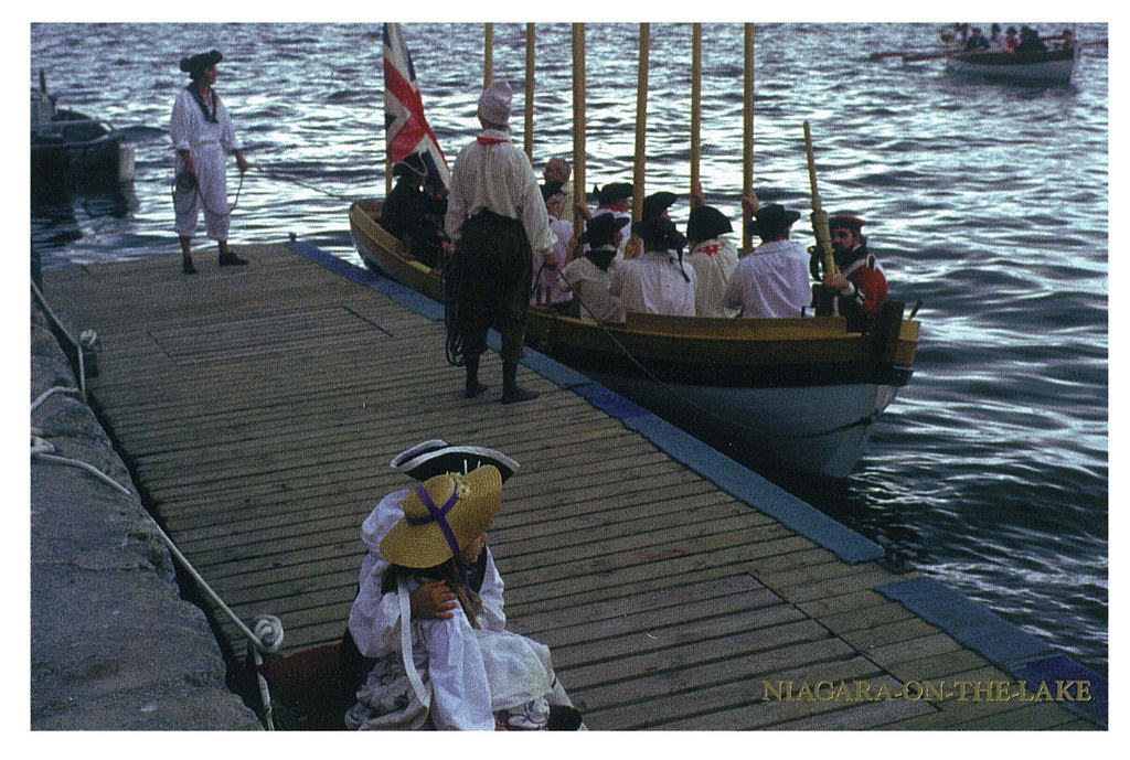 Ontario - Niagara-on-the-Lake - History - boat