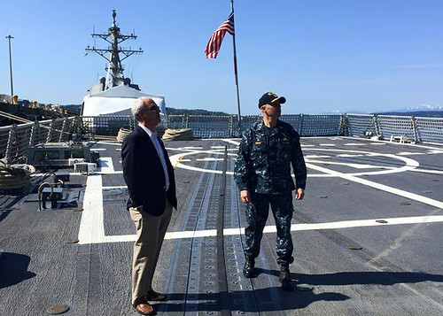Congressman Visits USS Shoup