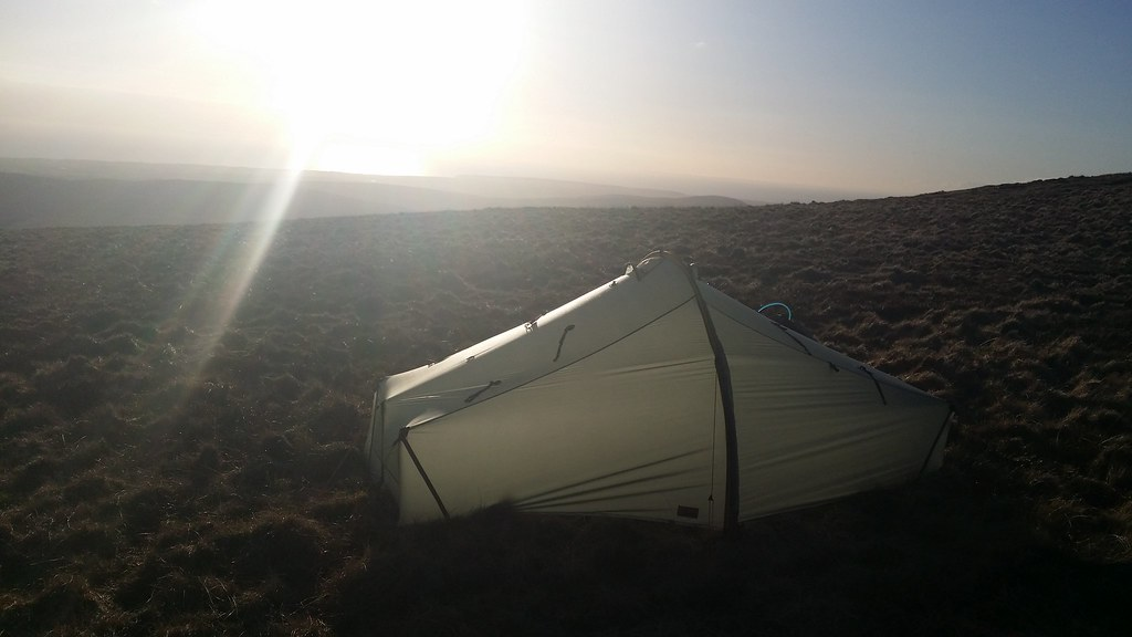 Sunset camp on seatallan #sh