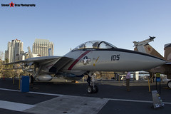 158978 NH-105 - 39 - US Navy - Grumman F-14A Tomcat - USS Midway Museum San Diego, California - 141223 - Steven Gray - IMG_6564